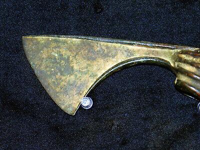 Luristan Bronze Axe Head Early 1St Millennium B.c. 3