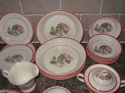 Crooksville China Pottery  Made In USA 2
