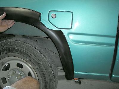 Rear fender flares wheel arches for ISUZU KB CHEVROLET LUV VAUXHALL BRAVA