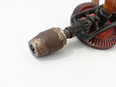 Vintage Antike Handbohrmaschine Holz Bohrer Bohrmaschine Handbohrer 9
