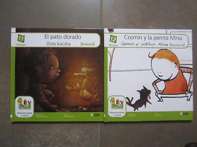 Coleccion 18 Libros Multicolor Cuentos Del Mundo Editorial Ecir. Bilingues 7