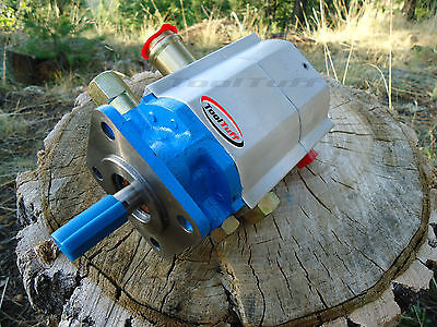 16 GPM Hydraulic Log Splitter Pump, 2 Stage Hi Lo Gear Pump, Logsplitter, NEW