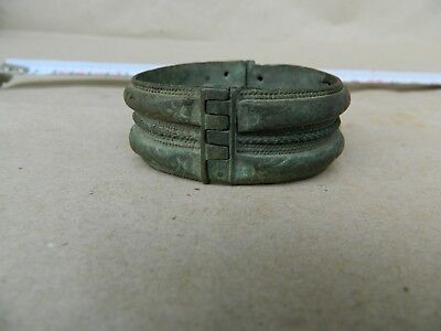 Antique Scarce 18th Century Bridal Bracelet Bronze