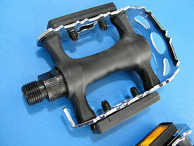 """FPO Road MTB BMX Cage Trap Pedals 9//16/"""" Bicycle Bike Cycle Universal NOS"""