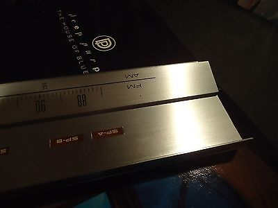 Pioneer SX-850 Stereo Receiver Parting Out Tuning Metal Bezel + Dial Shaft