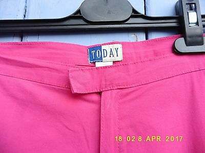 VINTAGE Girls Trouser/Capri 156Cm Age14 TODAY Cotton Excellent  Cond & Quality 3