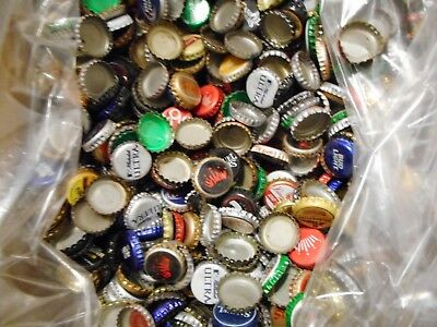 Lot Of 1500  Assorted   Beer Caps 7 1/2 Lbs  Mixed Micro And Major Breweries 2