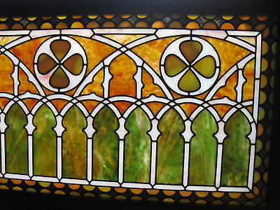 VICTORIAN STAINED GLASS  WINDOW  ca. 1880s 5