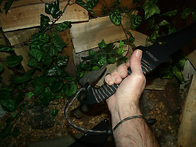 Machete/Knife/Sword/Blade/Full tang/Hunting/Camping/Survival/Combat/P550 wrap 8