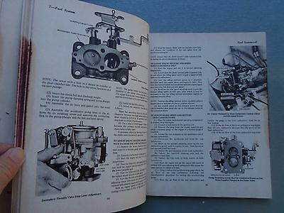 Toyota Corolla 1200 With 3K Engine Workshop Manual Late 1960'S Early 1970'S 4