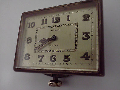 Rare 1920,s 8 days Eterna car clock, running 2