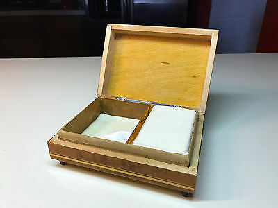 4 Of 10 Old Vtg Wood Ballerina Original Deichert Music Musical Jewelry Box West Germany