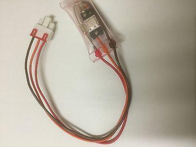 Lg Bi-Metal Defrost Sensor Thermostat Thermal Fuse 3 Wire 6615Jb2002A 0604 4