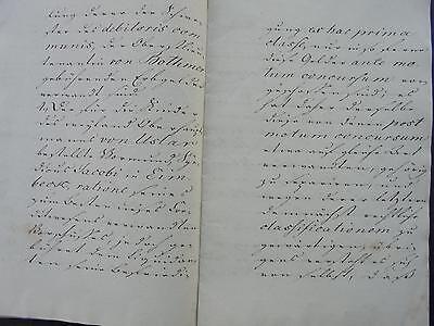 Dokumente 17 / Kopie um 1773 von Uslar zu Rudolphshausen ...32 Seiten