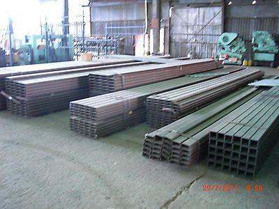 "STEEL SQUARE TUBING  1""x 1""x 16 GA  x  24 ft long hot rolled 4"