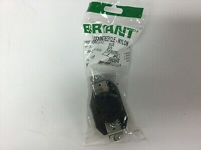 6 NEW Bryant NEMA-L5-30 Nylon Locking Receptacle 30A 125V 70530FR 2