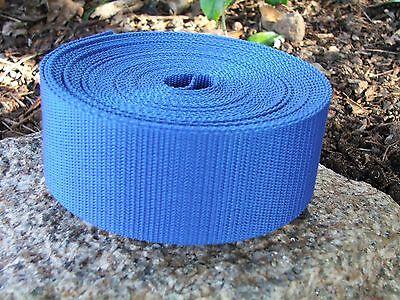 50mm Webbing Tape 10 Meters Standard or Herringbone Weave Staps Polypropylene