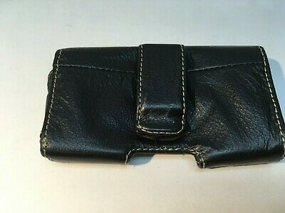 Leather Horizontal Belt Case Pouch for Apple iPhone 4 4S, with Belt Clip 2