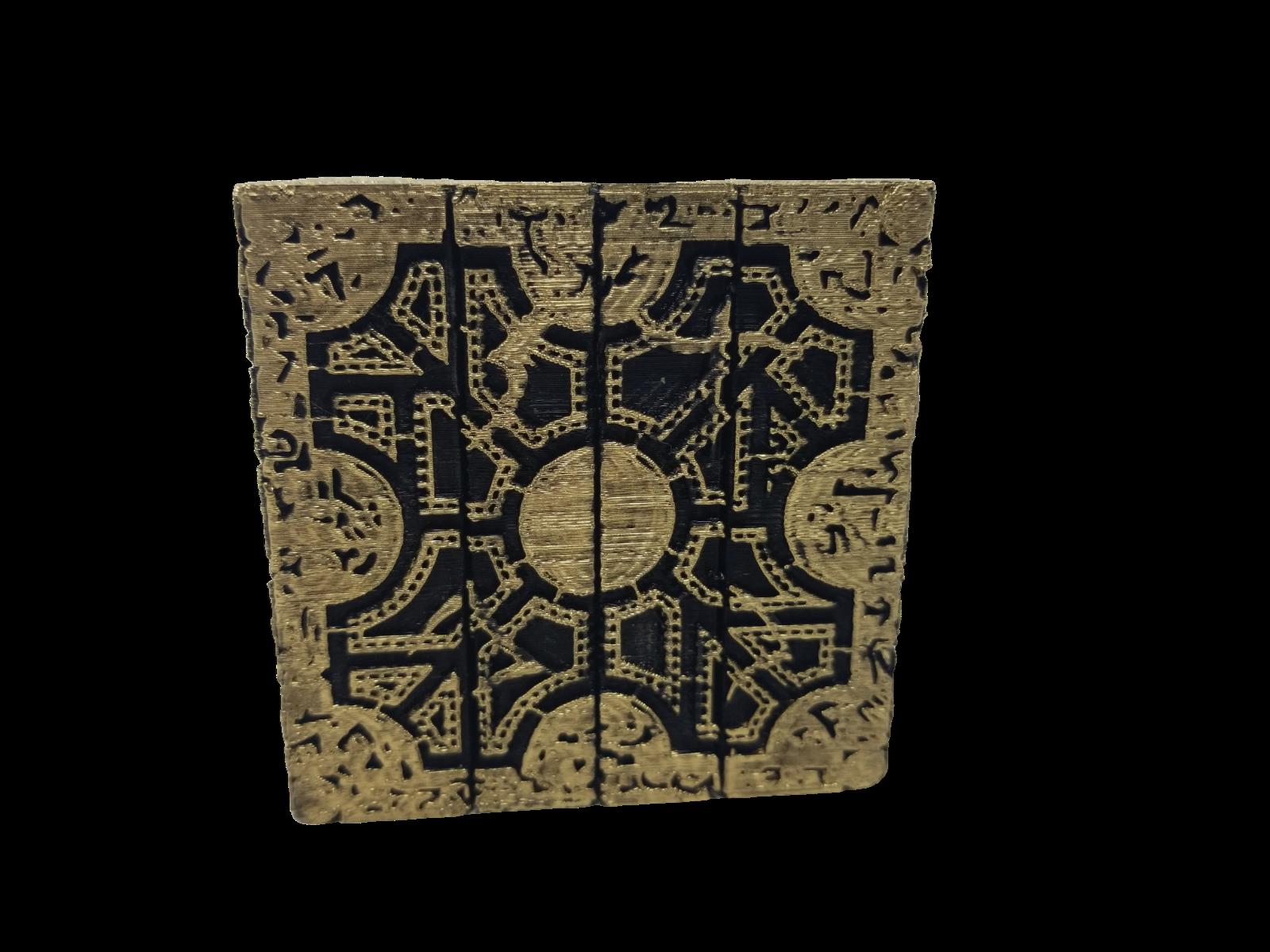 Hellraiser Cube Puzzle Box Lament Configuration  Functional Pinhead Prop Horror 5