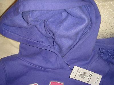 gap girl child set top trousers 2T 84 to 91cm 13 to 15kg bnwt sweatshirt purple 3