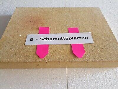 Schamottstein,Putzstein mit Deckel,215//175//38 mm,Schamott,Deutsche Profiqualität