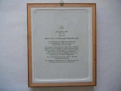 Heinrich Icono Del Año 1984 Madre de Dios Von Gietrzwald + Certificado N º 681+ 4