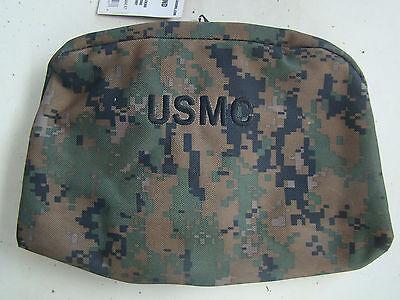 27b0ce87a620 ... Usmc Marine Corps Woodland Marpat Camo Camouflage Waterproof Dopp  Shaving Kit + 6