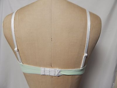 b.tempted scalloped edge full coverage Push up Bra 32C Light Green New w/ Tags 2