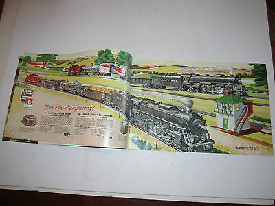 2 Of 6 1953 Lionel Train Catalog