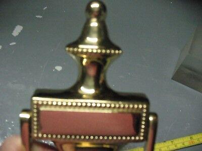 Vintage  Heavy  Solid  Brass  Door  Knocker  Never  Used  Mint 3