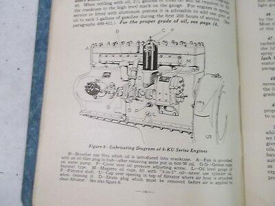 Care and operation of waukesha six cylinder engines 3
