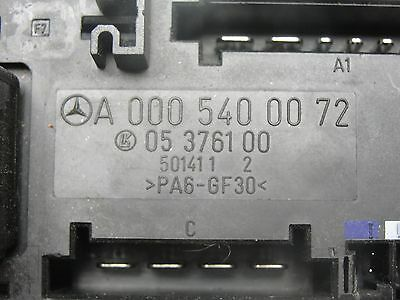 98-02 mercedes benz e320 e430 fuse block box overload protection relay  oem 2