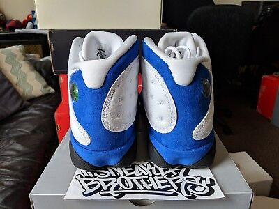 wholesale dealer f9363 37a02 NIKE AIR JORDAN Retro XIII 13 2018 Hyper Royal Blue White Black Men's  414571-117