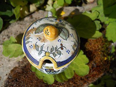 Ancien moutardier Desvres Blason souvenir Mont St Michel