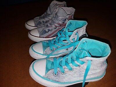 scarpe converse azzurre