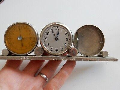 ART DECO ERA   trio clock barometer etc to restore 12