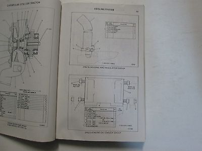 CATERPILLAR D7G LGP Tractor Parts Book Powered By 3306 Engine USED OEM CAT