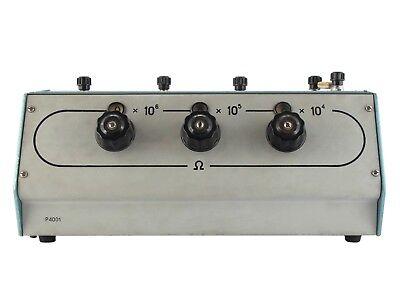 0.01-1 MOhm 0.1% P4001 Decade Resistance Standard Box Resistor an-g L&N ESI 2
