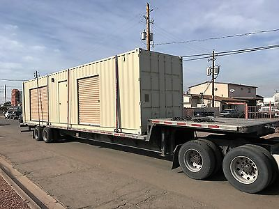 Shipping Container Portable Storage building with four roll up doors 6