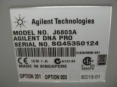 Agilent J6804a Dna Keysight Distributed Network Analyzer Ex J6851a Working Collectibles