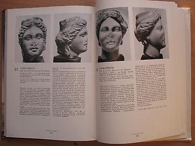 Russian Book Antique Art Stone Vintage Greek Sculpture Statue VTG Bust Antic Old