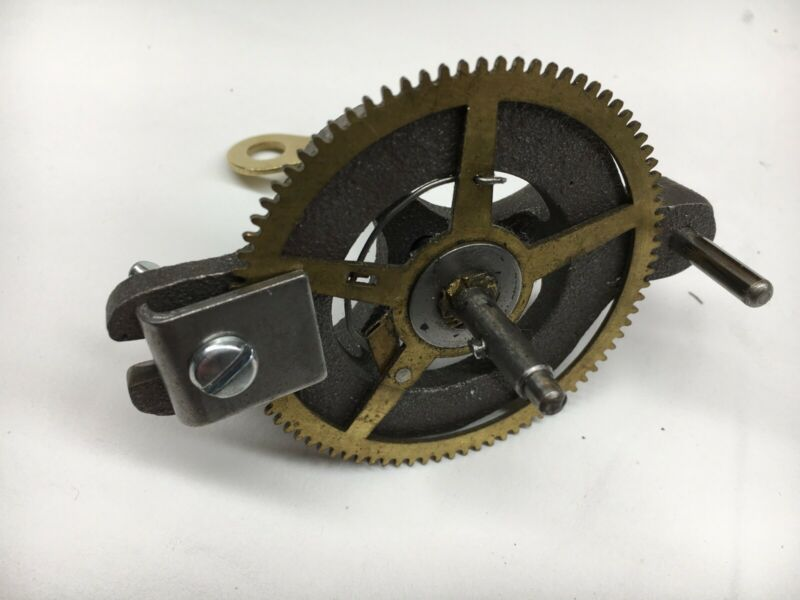 Clock Mainspring Winder and Clamps for Loop End Springs 4