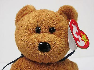 """Brand New Ty Beanie Baby  /""""Fuzz/"""" the Bear Mint w//Mint Tags"""