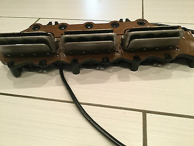1995 JOHNSON EVINRUDE 175HP INTAKE MANIFOLD & REED Stbd. 0433249 150HP-175HP