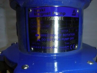 Iwaki Magnet Pumpe MX-F250CFVTE