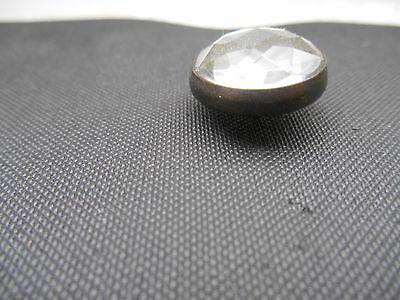 Bronzefassung 11,5mm Durchmess Diamant m 50 Ziernägel//Polsternägel Kristall