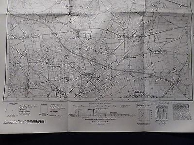 Landkarte Meßtischblatt 4355 Eichenrode i.d. Neumark / Dębinka, Sorau, 1940