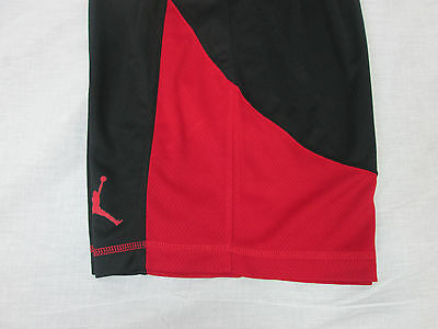 a82b024b039a ... 8 NWT Nike Youth Boy s Air Jordan Jumpman Basketball Shorts M L XL  Black Red  40 3