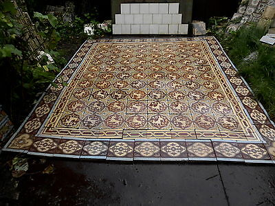 tiles victorian ceramic sand feignies perusson boch metlach boulenger 1900 4
