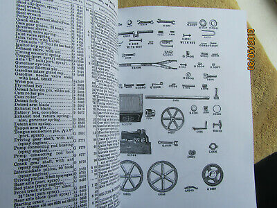 IHC Titan Famous 1914 1 HP Gas Engine Instruction & Parts  Manual 3